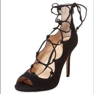 Vince Camuto Sandria Suede Lace-up Sandals